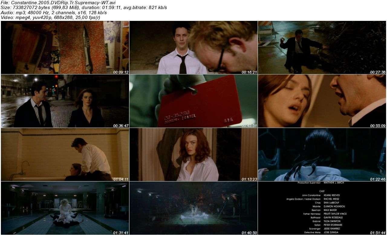 Constantine - 2005 BDRip XviD - Türkçe Dublaj Tek Link indir