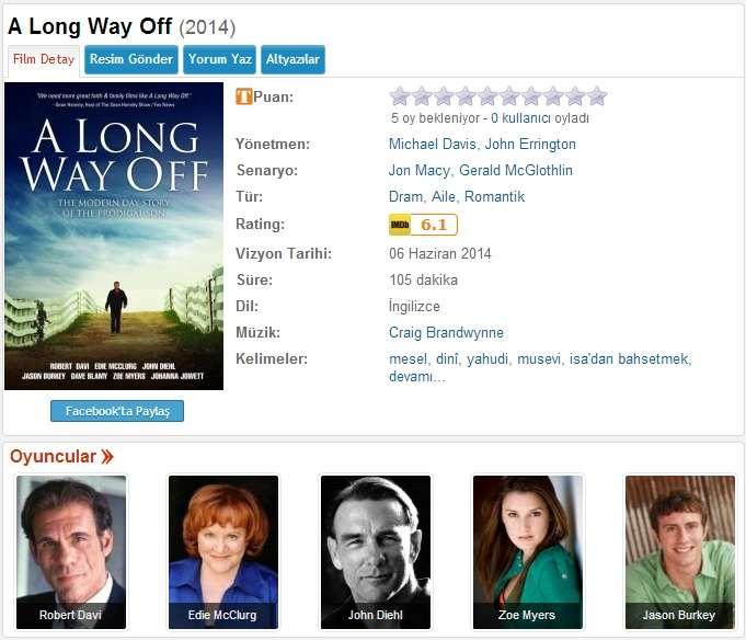 A Long Way Off - 2014 DVDRip XviD- Türkçe Altyazılı Tek Link indir