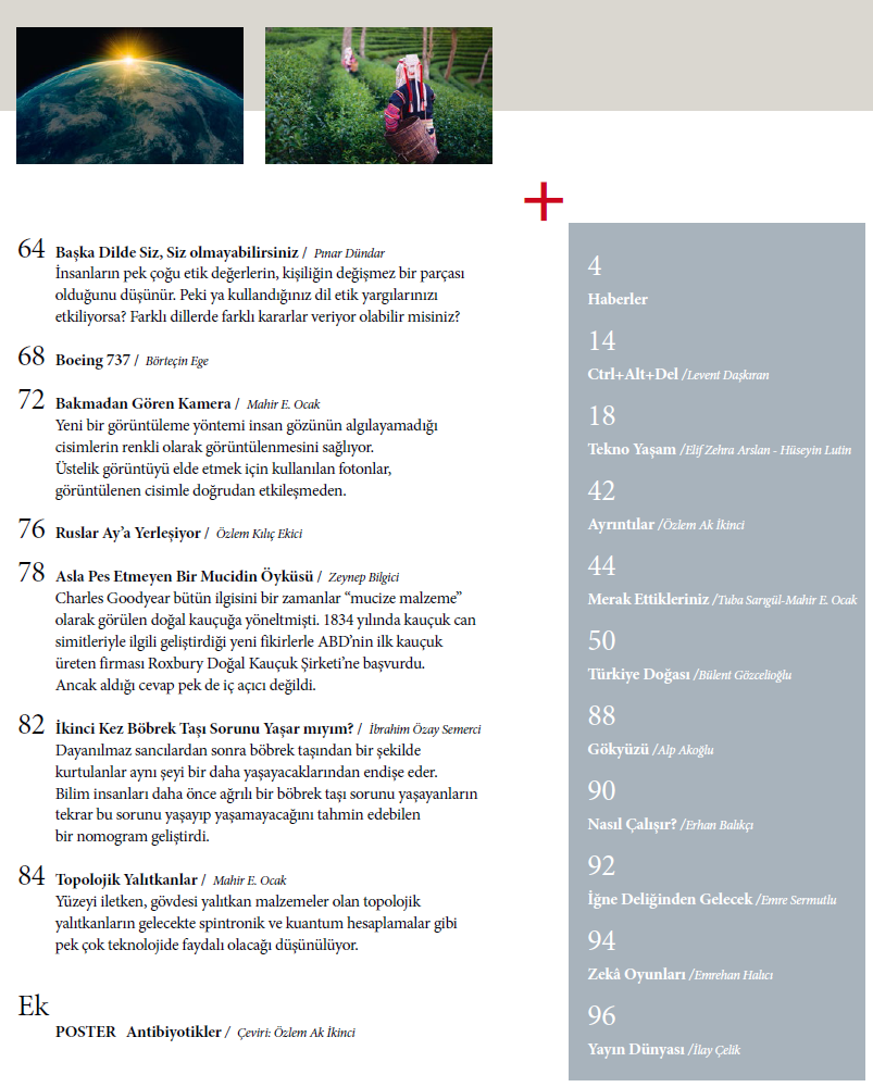 Bilim Teknik Dergisi Kasım-Aralık 2014 indir
