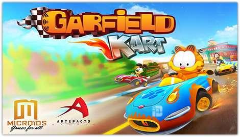 Garfield Kart Fast & Furry v1.03 APK Full indir