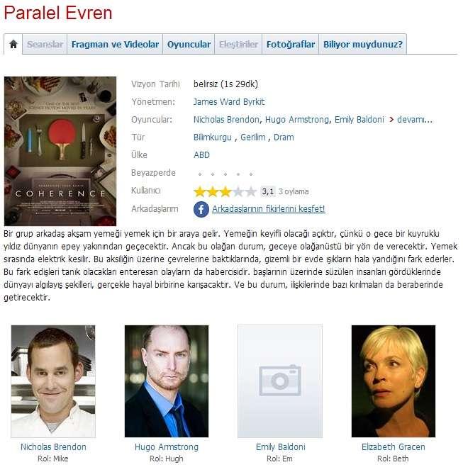 Paralel Evren - 2013 BRRip XviD - Türkçe Dublaj Tek Link indir