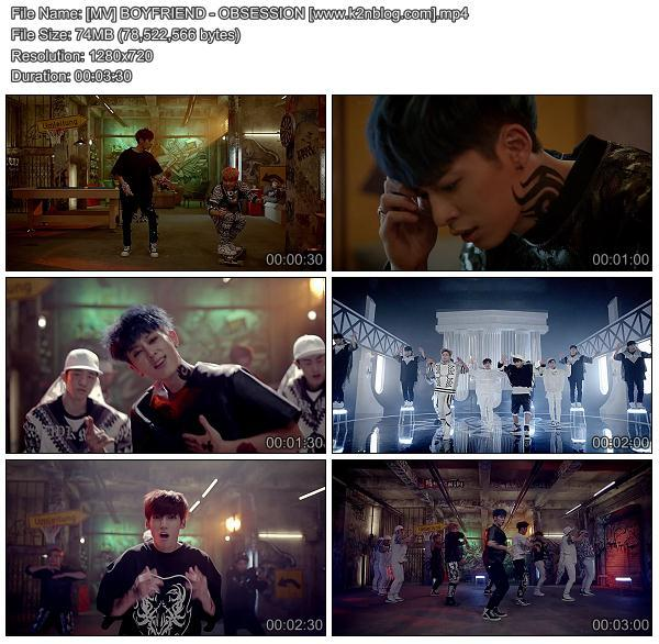 [MV] BOYFRIEND - OBSESSION [HD 720p Youtube]