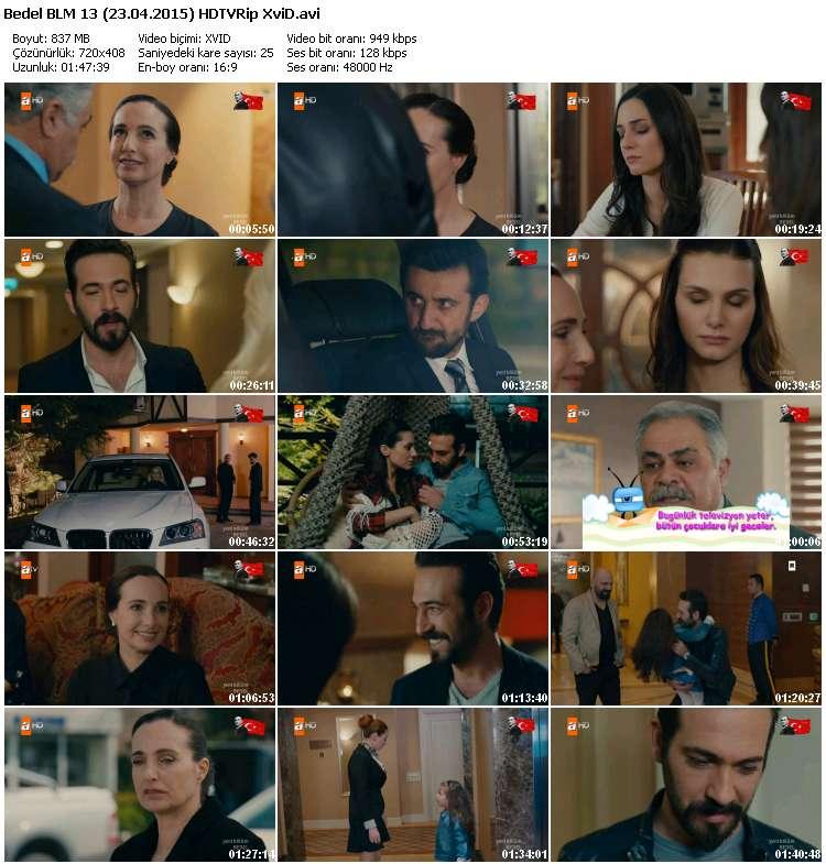 Bedel 13.Bölüm (23.04.2015) HDTVRip XviD