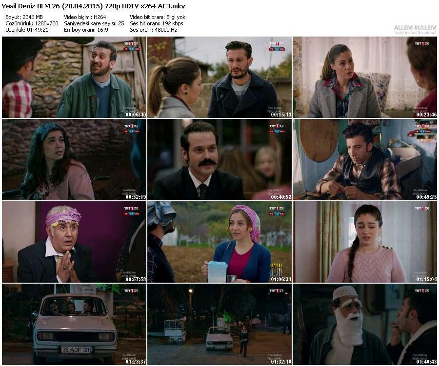 Yeşil Deniz 26.Bölüm (20.04.2015) 720p HDTV x264 AC3