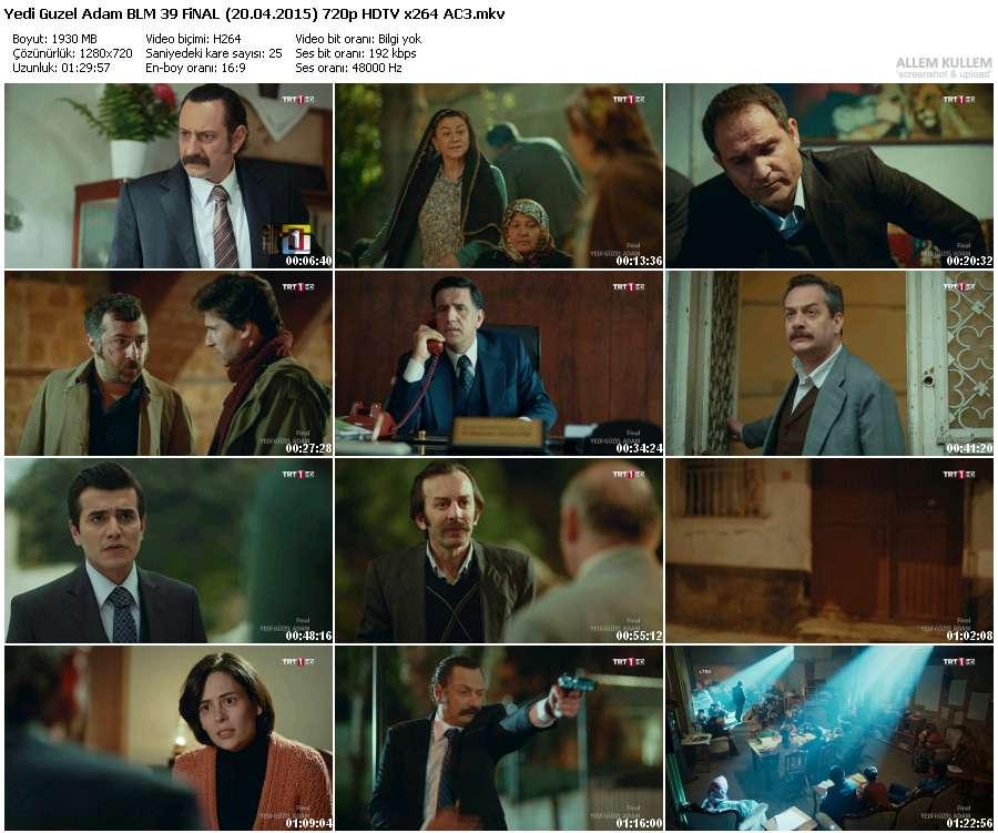 Yedi Güzel Adam 39.Bölüm (20.04.2015) 720p HDTV x264 AC3