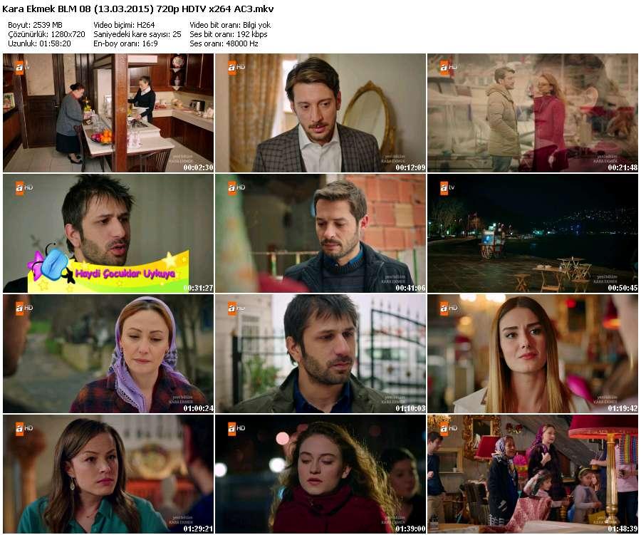 Kara Ekmek 8.Bölüm (13.03.2015) 720p HDTV x264 AC3