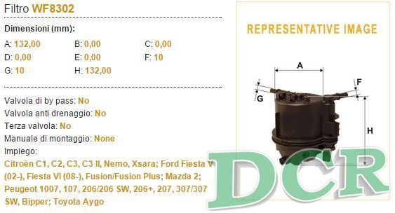 kit tagliando wix ford fiesta vi 1 4 tdci 50kw 68cv olio. Black Bedroom Furniture Sets. Home Design Ideas