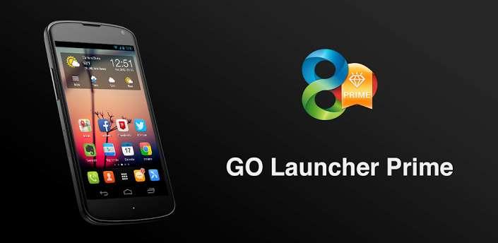 GO Launcher Ex Prime 5.10 + Go locker APK Full indir