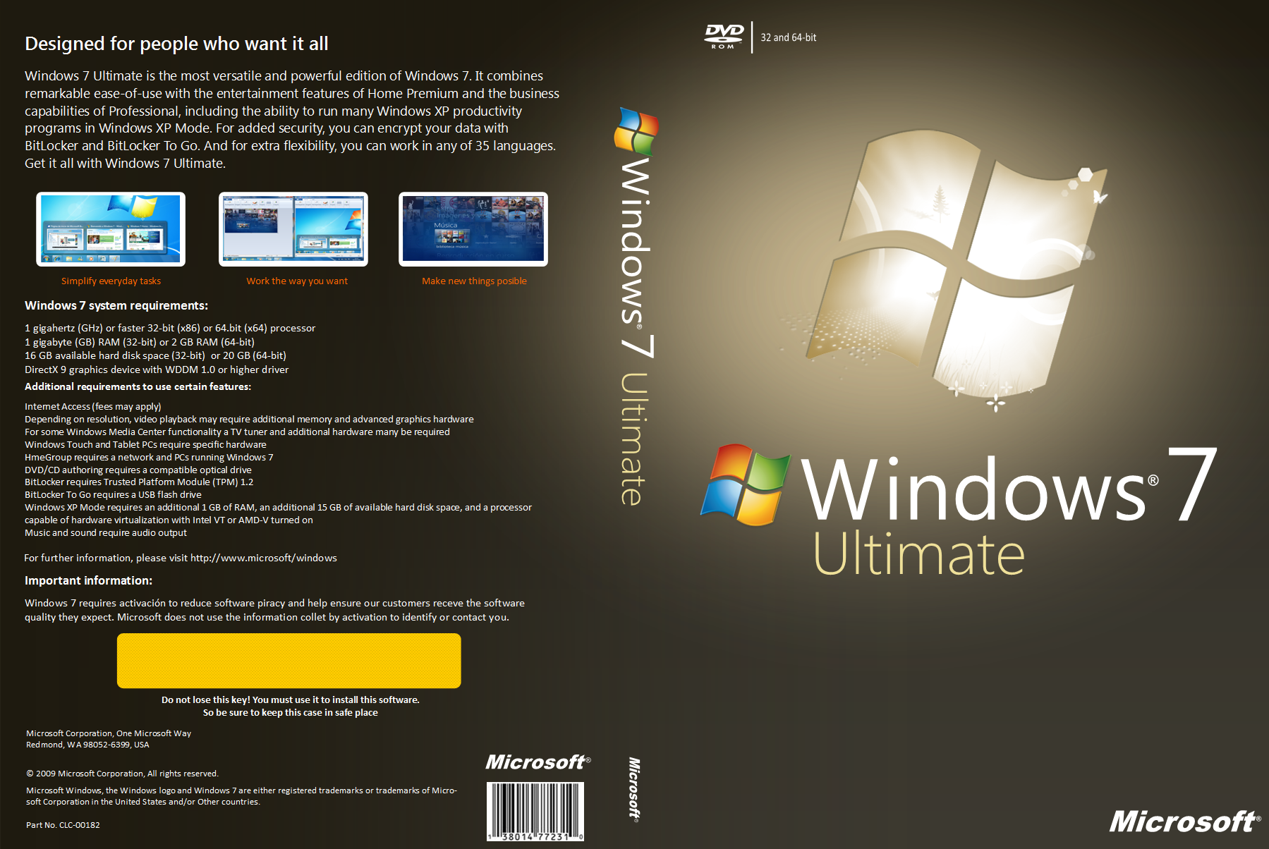 windows 7 ultimate lite 32 bits español torrent