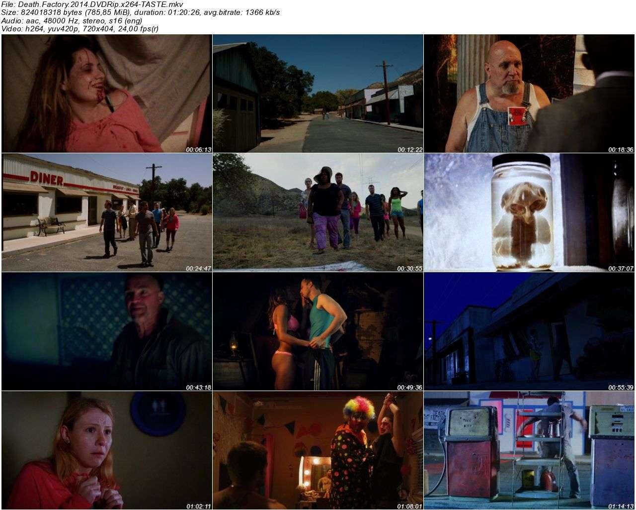Death Factory - 2014 DVDRip x264 - Türkçe Altyazılı Tek