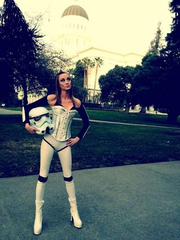 Costume de Stormtrooper sexy