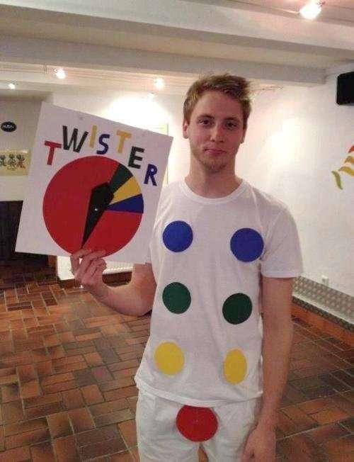 Déguisement Twister truqué