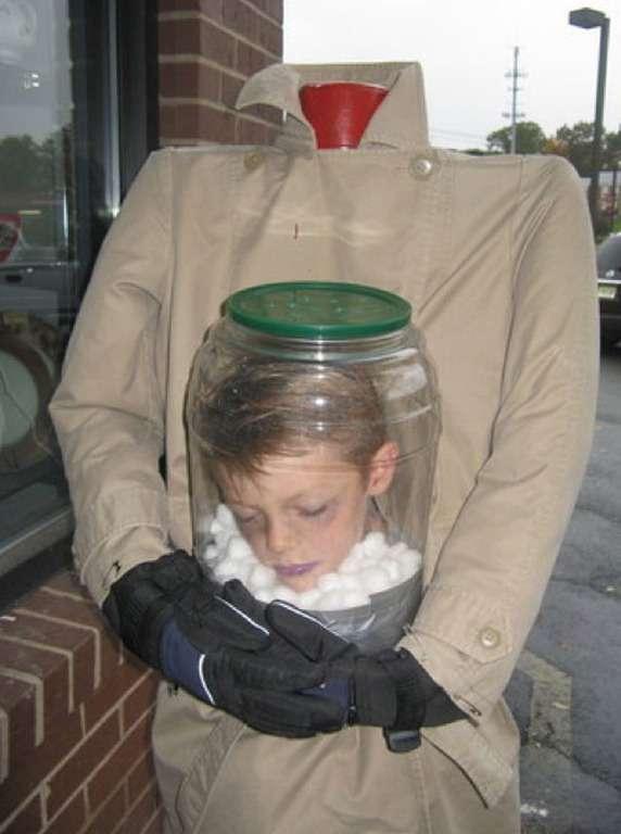 Déguisement pour enfant sans tête