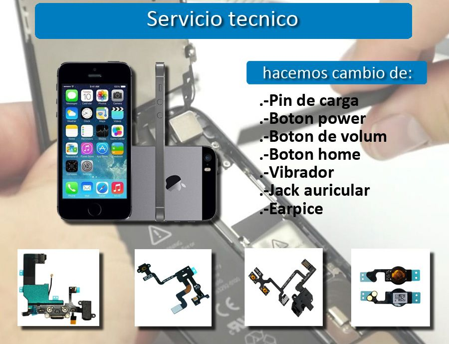 Pin de carga Iphone 5 / 5C / 5S