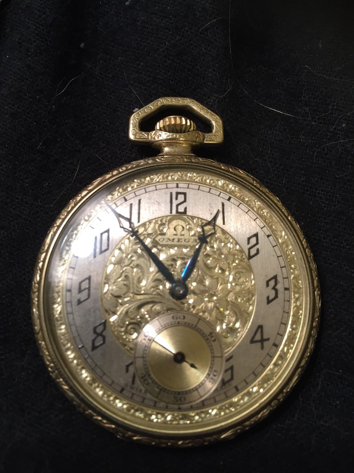 LOT 5  Omega Pocket Watch 17 Jewel  Price realized – US  147.47 (Approx.  £102) f4178ae46b