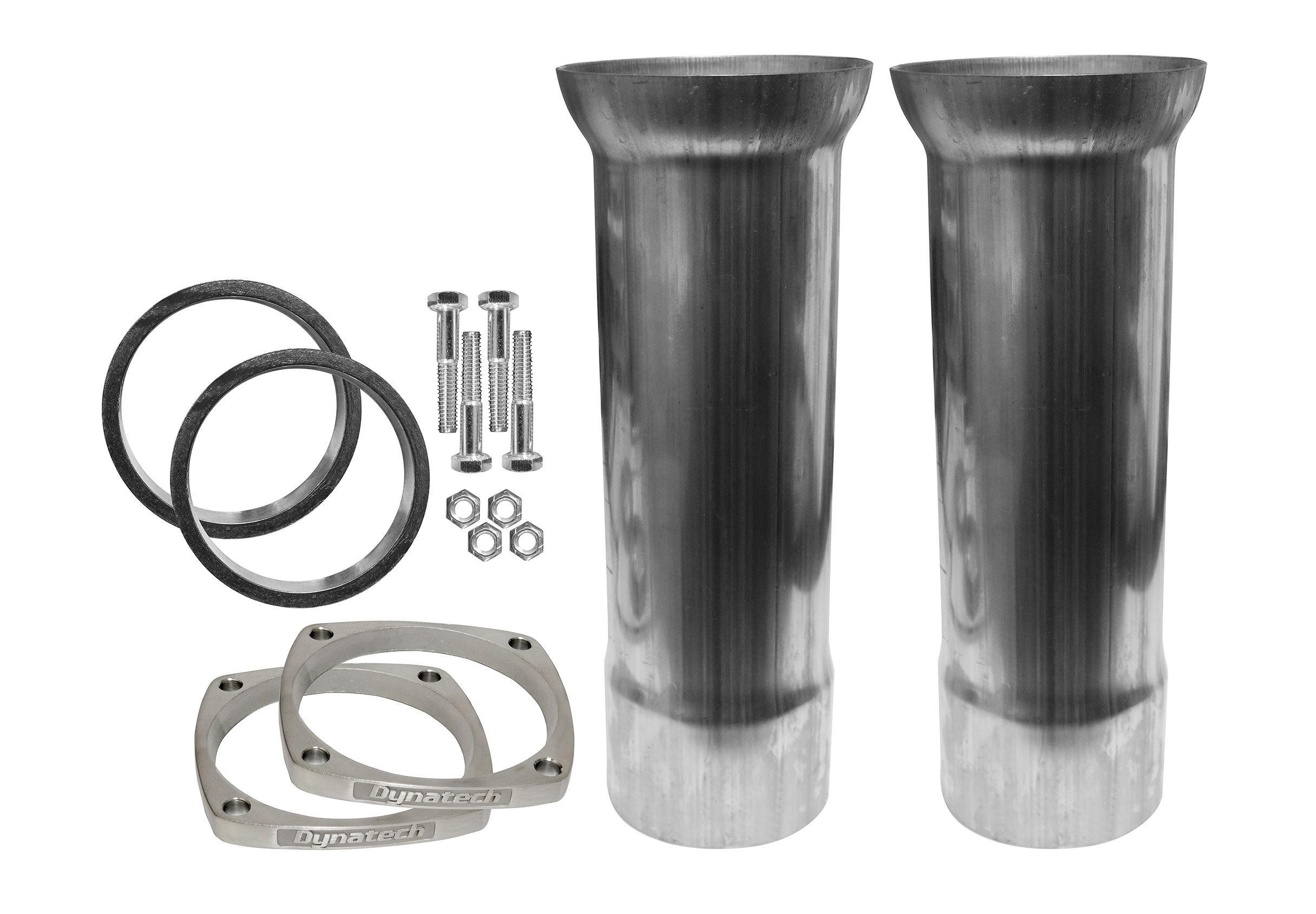 Reducer Cone Kit For SBC And LSX, 2-1/2 Inch Stainless Steel