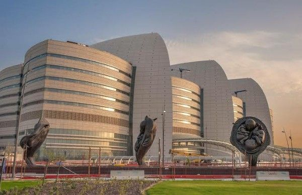 See 14 Giant Sculptures Depicting Fetus' 9mths Journey At ...