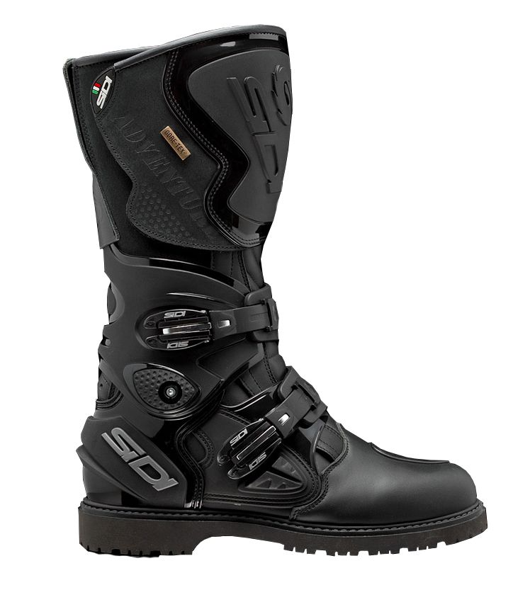 Black Touring Brown Details GTX Boots about Sidi Waterproof or Adventure Motorcycle 2 Gore Tex ZuPkiX