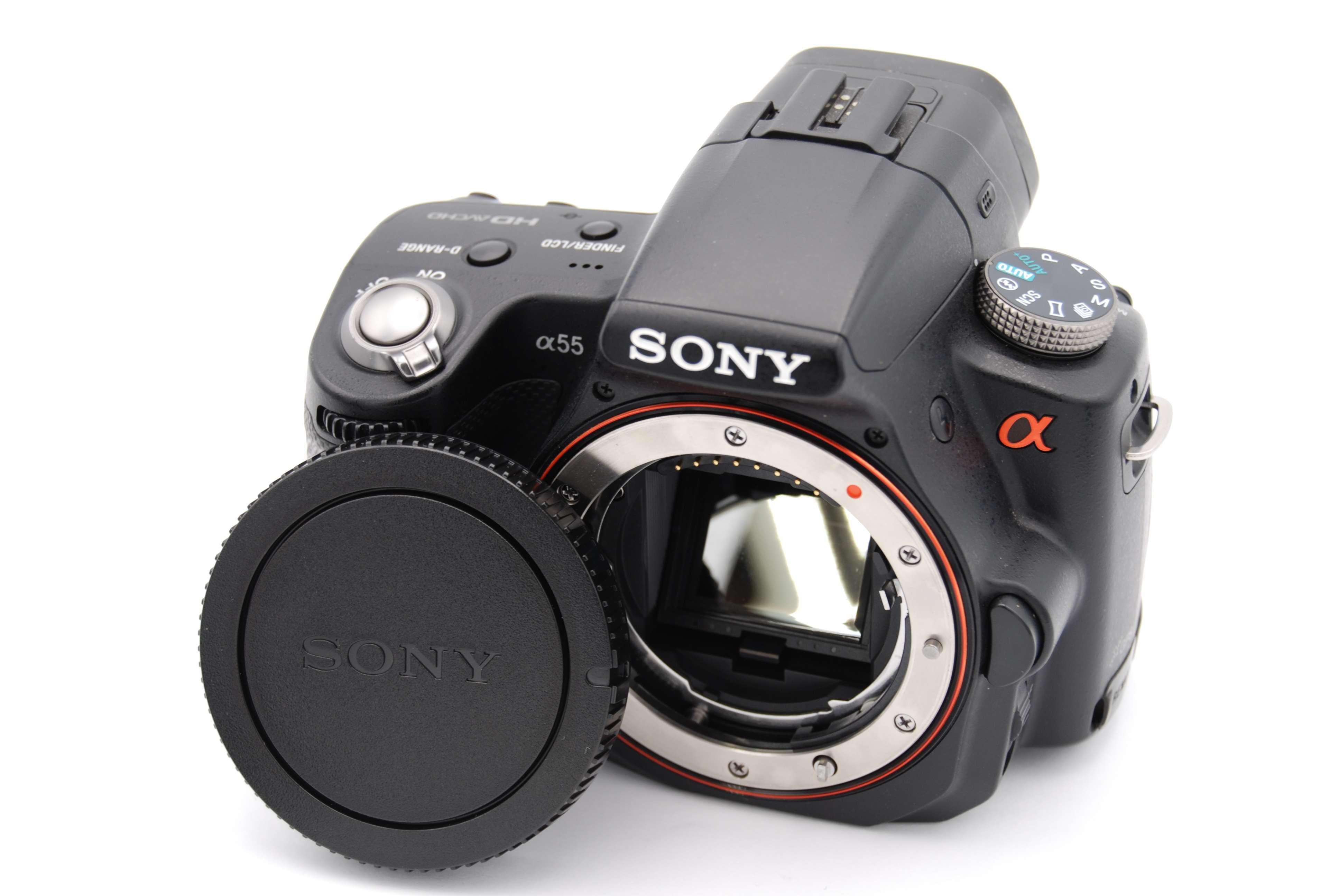 sony alpha slt a55 16 2mp digital slr camera black body only rh ebay com sony alpha a55 manual pdf sony slt a55 manual pdf