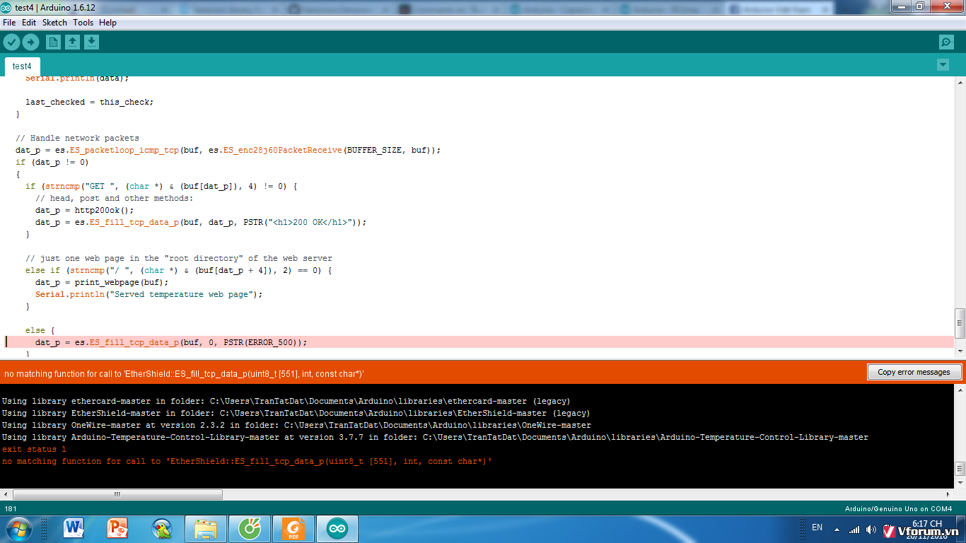 Gặp lỗi khi đo cảm biến độ ẩm hs1101 bằng arduino | Cộng