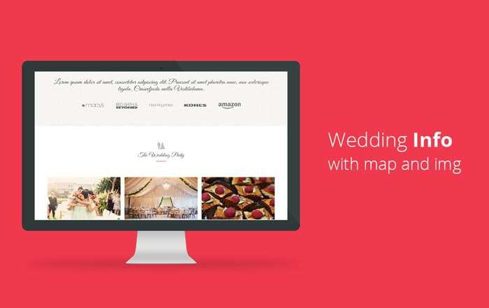 Wedz - Responsive HTML5 Wedding Template - 7