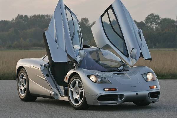 Young Elon Musk Taking Delivery Of His $1m Mclaren F1
