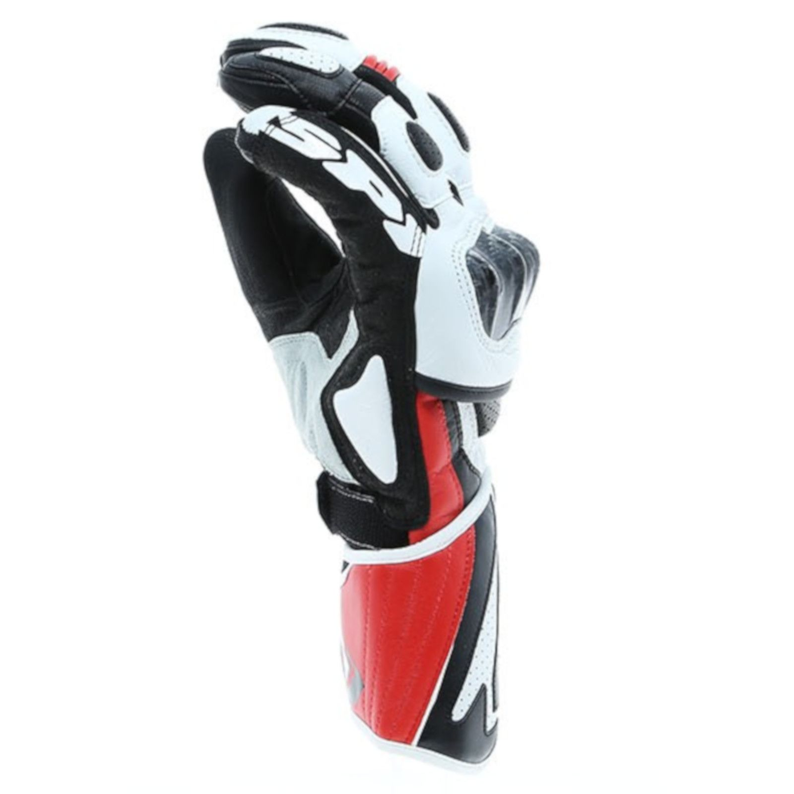 Sport Gloves Uk: Spidi Carbo 1 Motorcycle Motorbike Leather Racing Sport