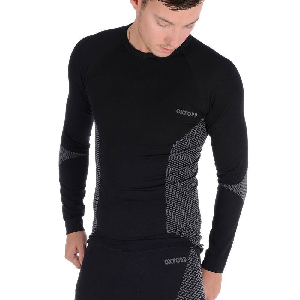 Oxford Compression Knitted Base Layers Top