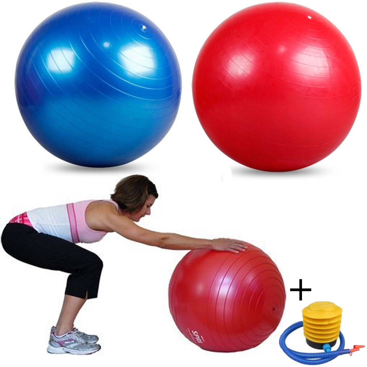Stability Ball For Labor: 65CM YOGA PREGNANCY BIRTHING FIT EXERCISE ANTI BURST GYM