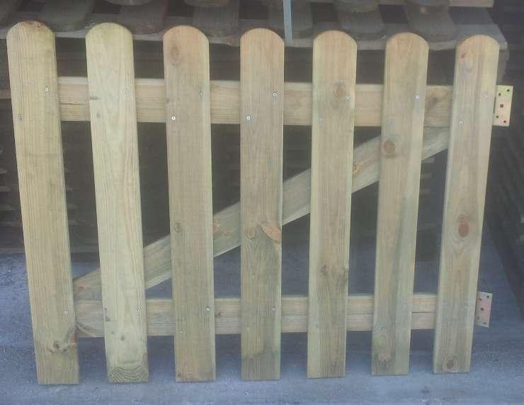 Cancelletto In Legno : Cancelletto in legno di pino impregnato l100xh100 cm per steccati