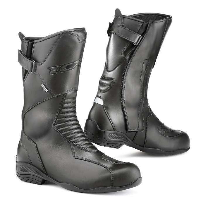 Dettagli su TCX Bluma Gore Tex da Donna Impermeabile pelle Stivali da Moto Touring