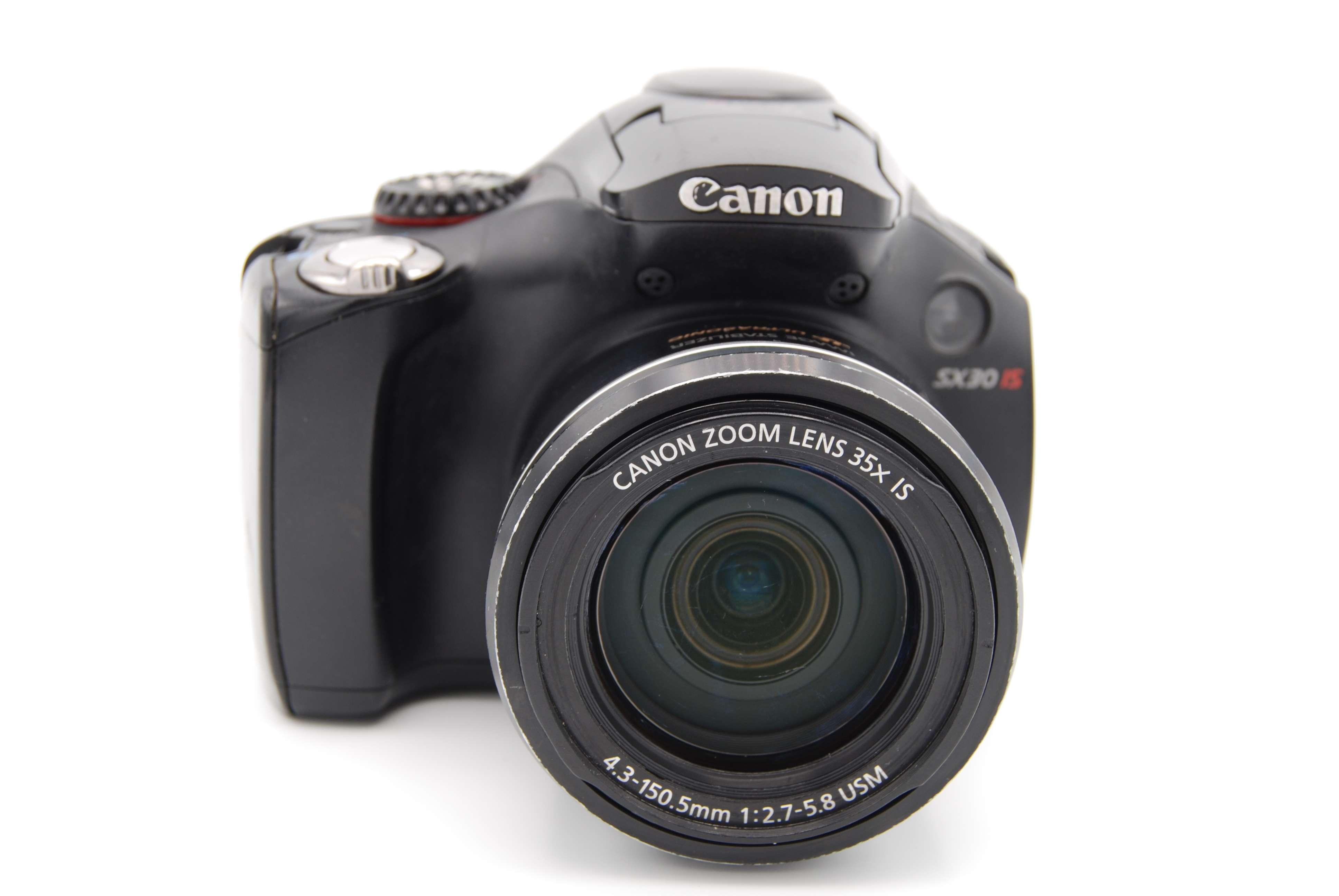 Canon PowerShot SX30 IS 14.1 MP 2.7'' SCREEN 35X ZOOM Digital Camera - Black