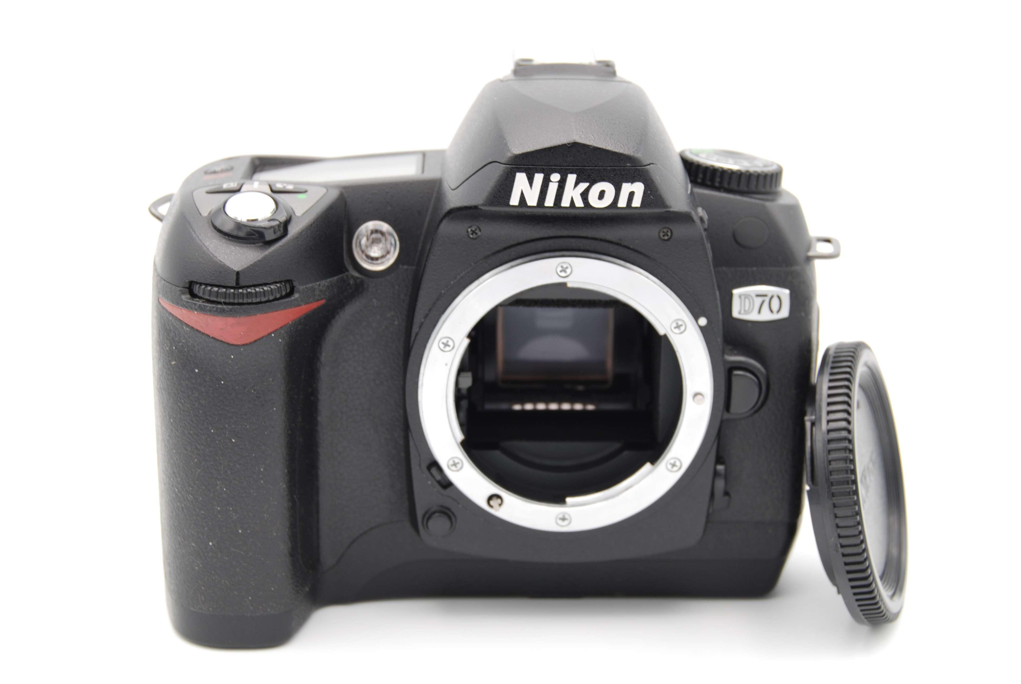 nikon d70 6 1mp 1 8 u2033 screen digital slr camera body only shutter rh ebay com Nikon D70 ManualDownload Nikon D70 Manual Online