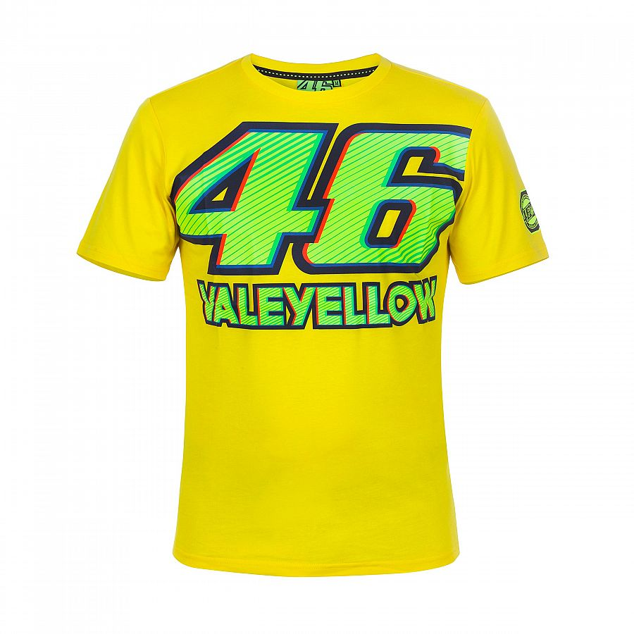 Valentino Rossi VR46 Moto GP The Doctor All Over Print Camiseta Oficial 2019
