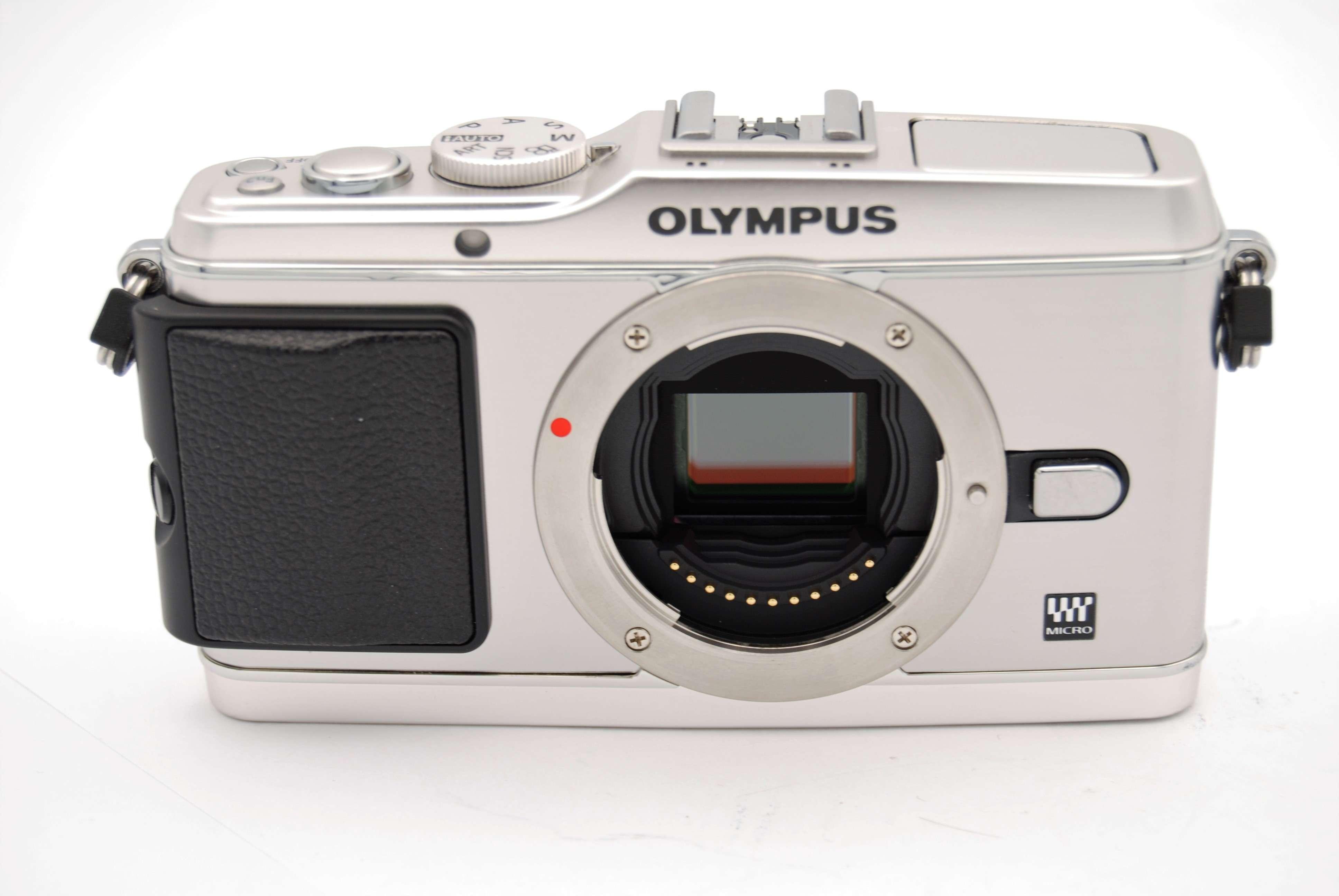 olympus pen e p3 12 3mp digital camera silver  body only  ebay olympus pen e-p3 user manual olympus e-p3 manual