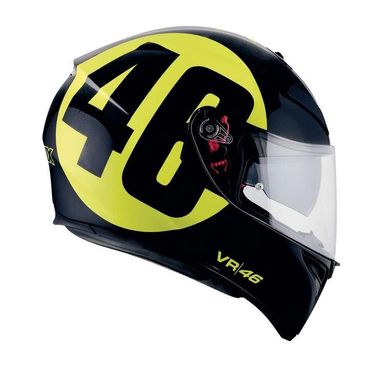 Agv K3 Sv Dvs Intégral Casque Moto Bollo 46 Rossi Réplica Ebay
