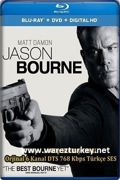 Jason Bourne - 2016 BluRay 1080p DuaL MKV indir
