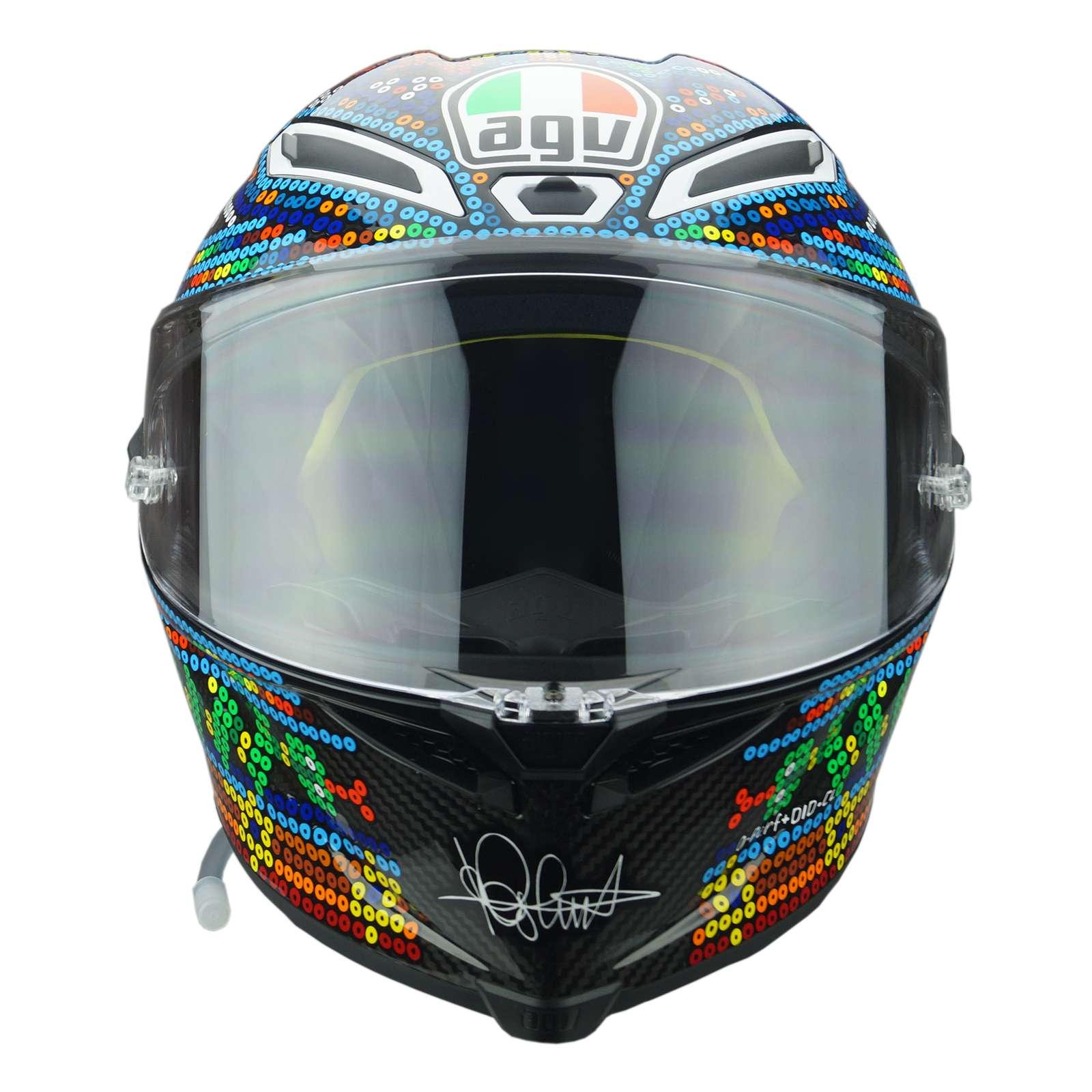 f8984403dda33 AGV Pista GP-R Limited Edition Rossi Winter Test 2018 Carbon Motorcycle  Helmet
