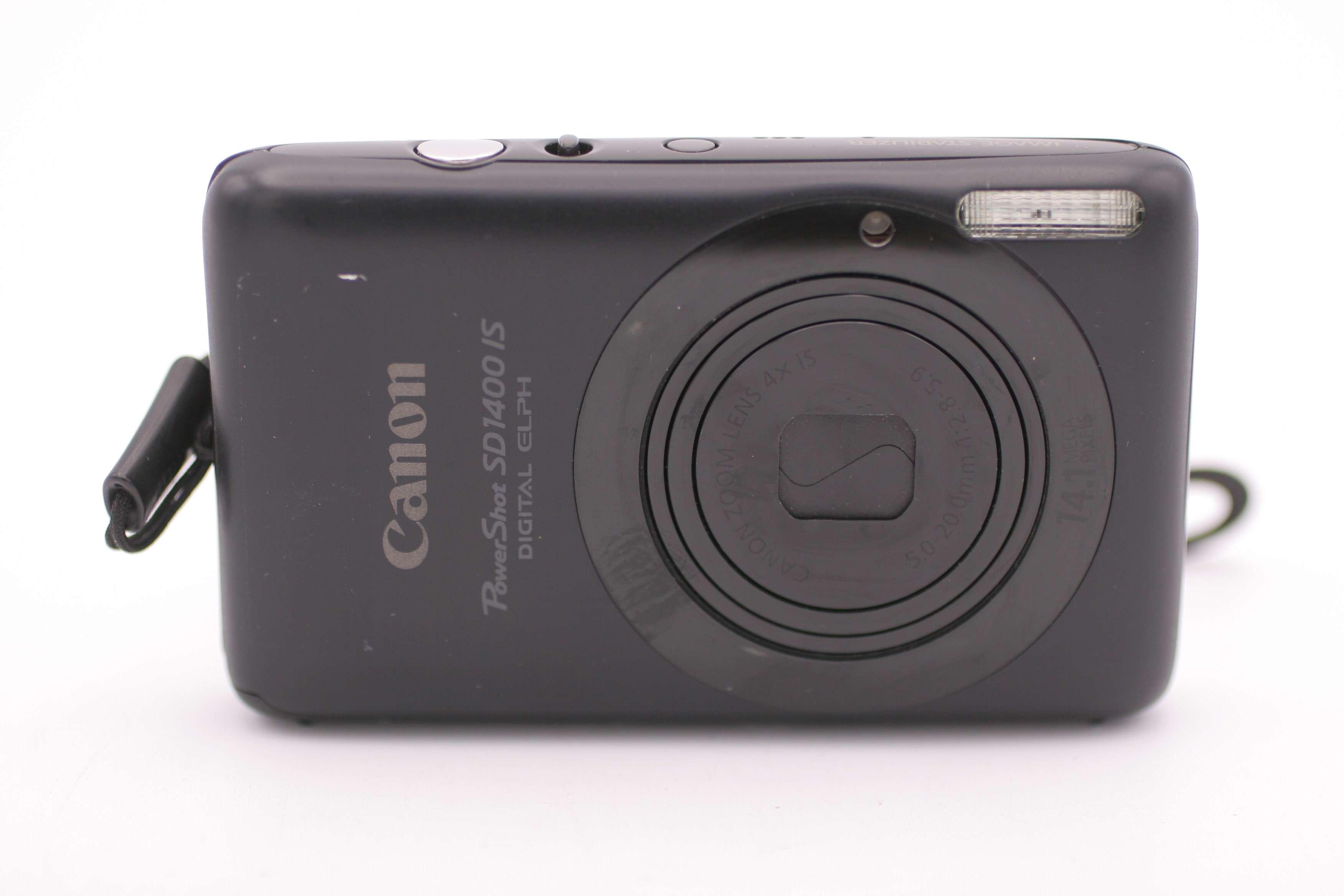 Details about Canon PowerShot Digital ELPH SD1400 IS / IXUS 130 14 1MP  digital Camera - Black