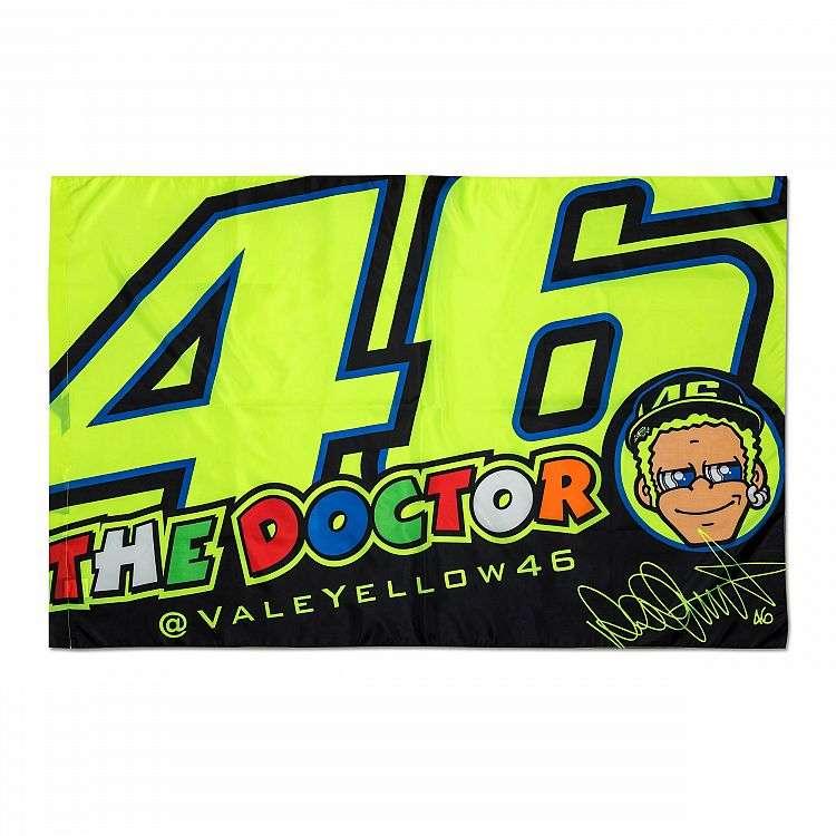 53817ef9d71 VR46 Valentino Rossi MotoGP Cupolino drapeau médecin Classic moto - 2018