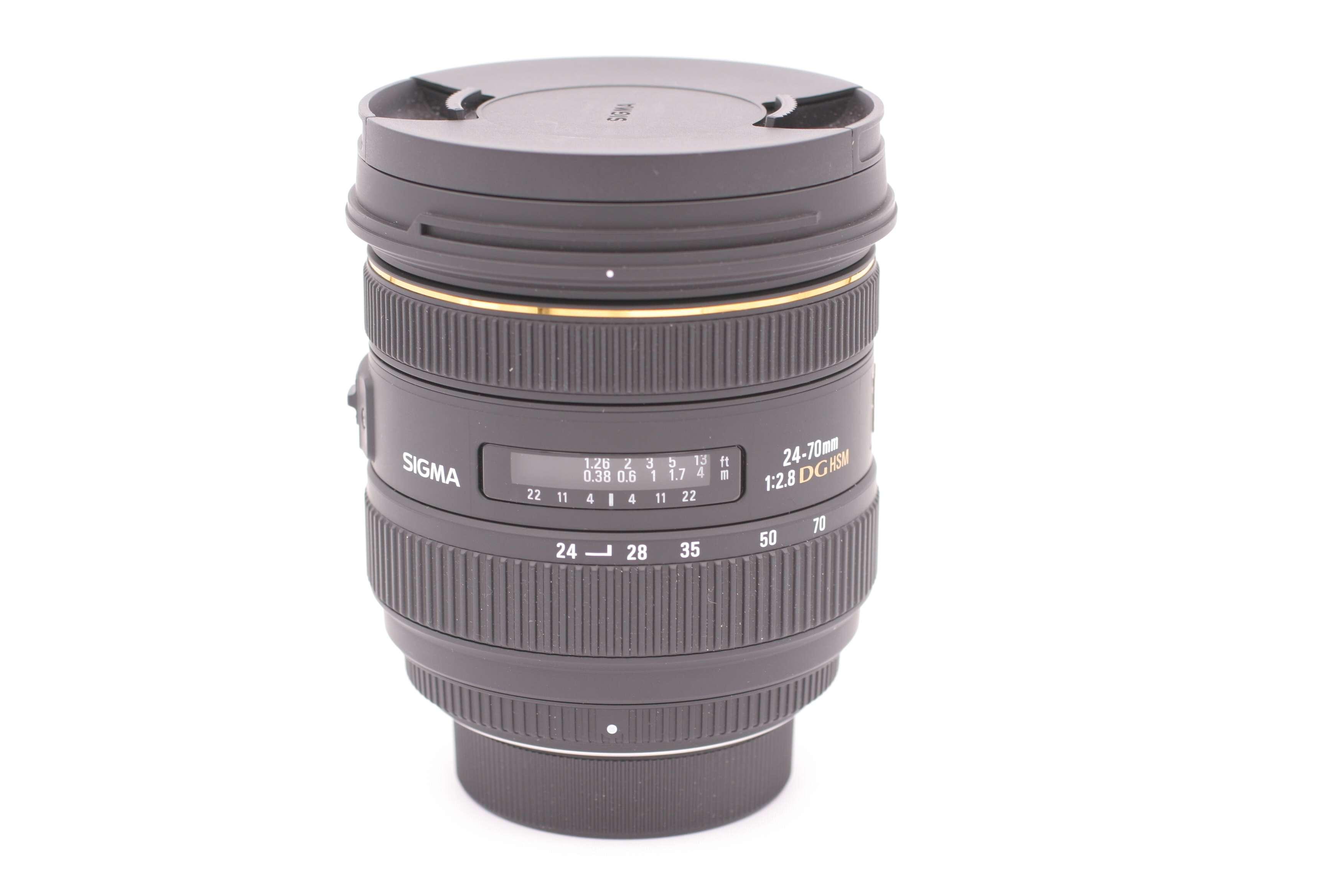 Sigma 24 70mm F 28 If Ex Dg Hsm Af Standard Zoom Lens For Nikon Slr