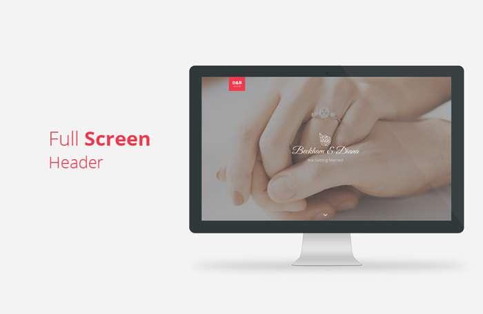 Wedz - Responsive HTML5 Wedding Template - 2
