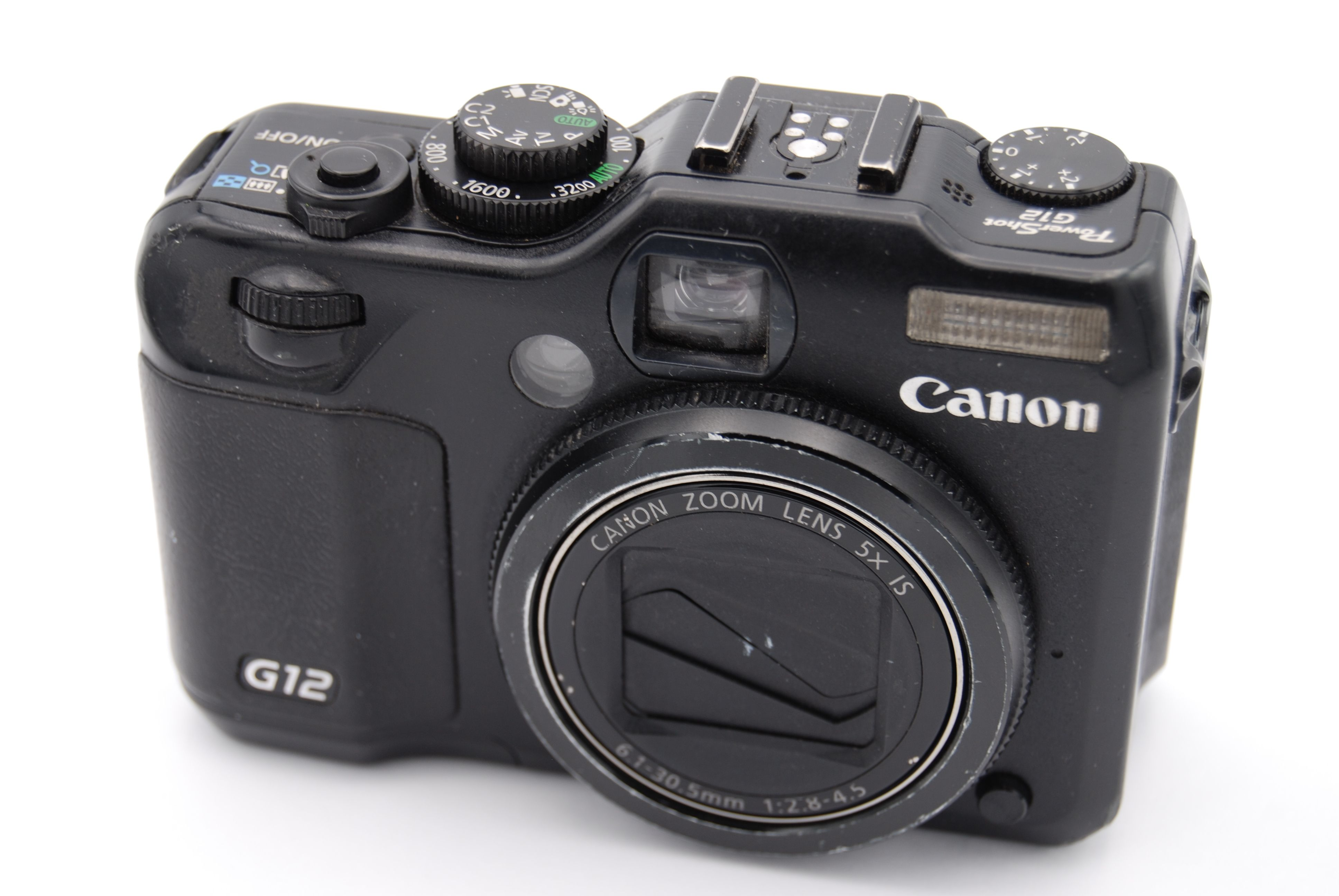 canon powershot g12 10mp 2 8 39 39 screen 5x zoom digital camera 13803126815 ebay. Black Bedroom Furniture Sets. Home Design Ideas