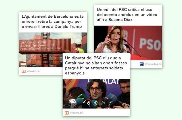 Recull notícies PSC