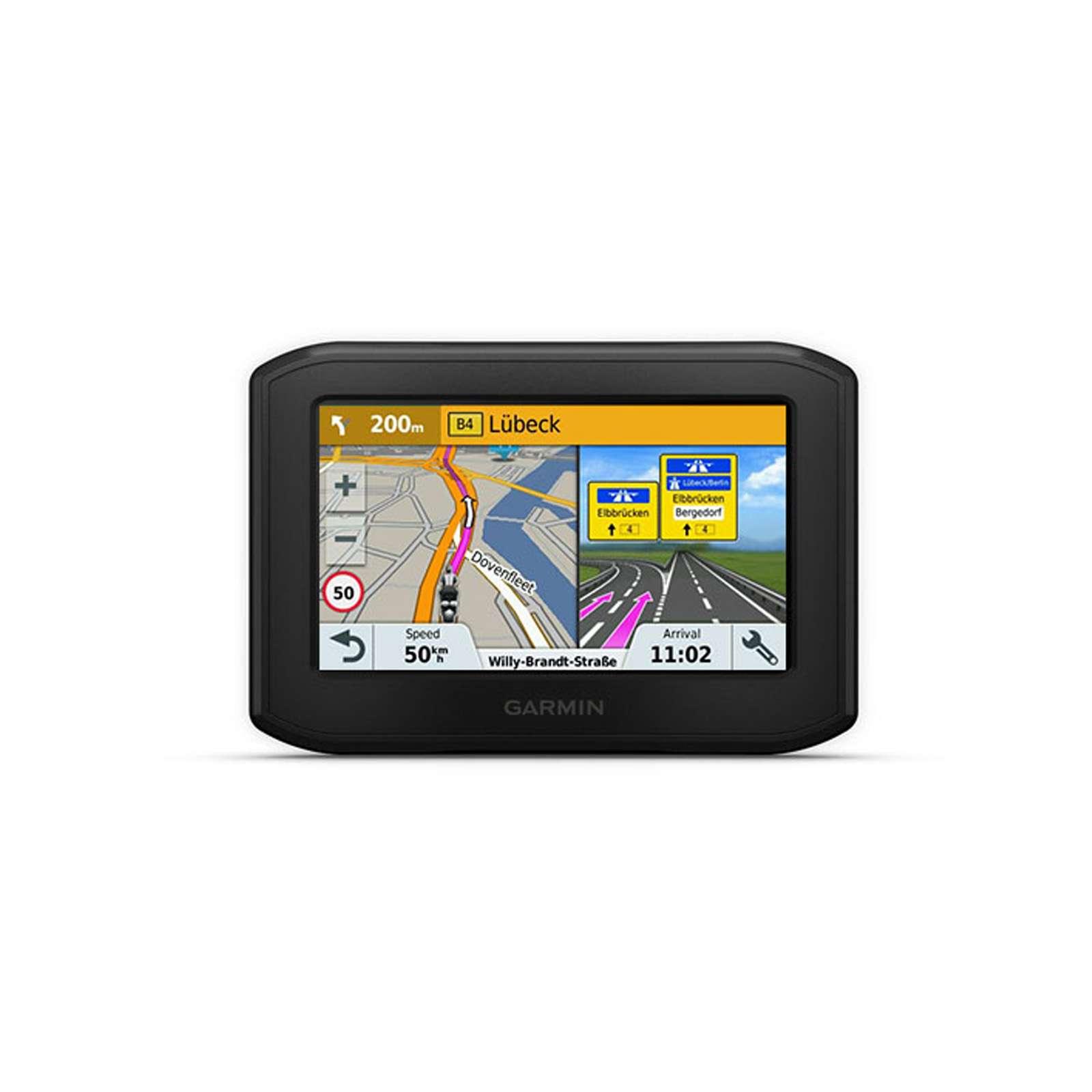 Navegador GPS con mapas por vida pantalla de 5 , mapa Europa completo Garmin Zumo 595LM EU color negro