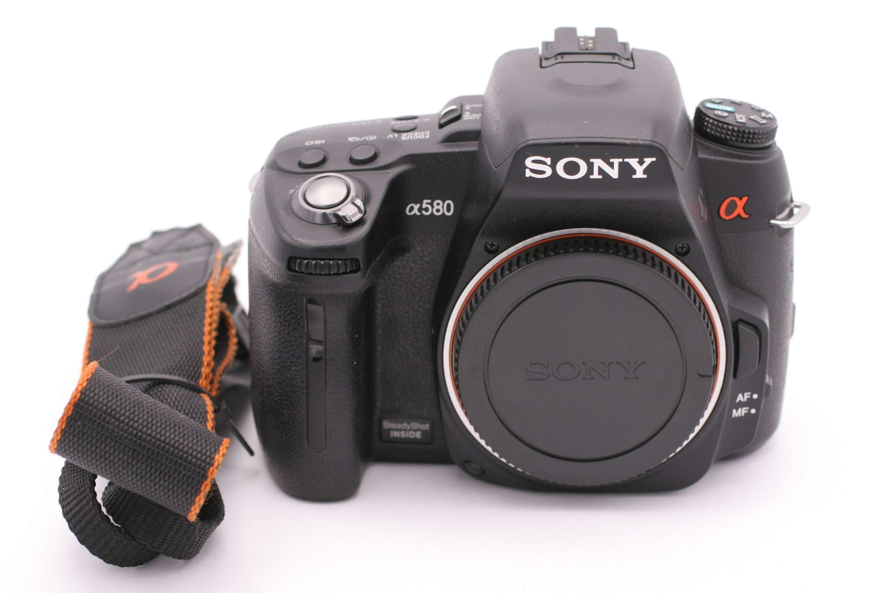sony alpha dslr a580 16 2 mp digital slr camera black body only ebay. Black Bedroom Furniture Sets. Home Design Ideas