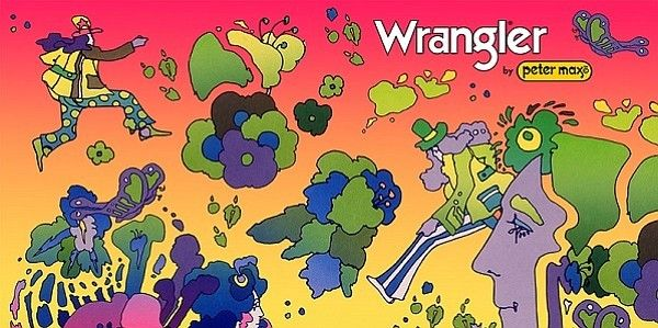 8d08c2237 Please click photo if you want to see all collection WRANGLER by PETER MAX
