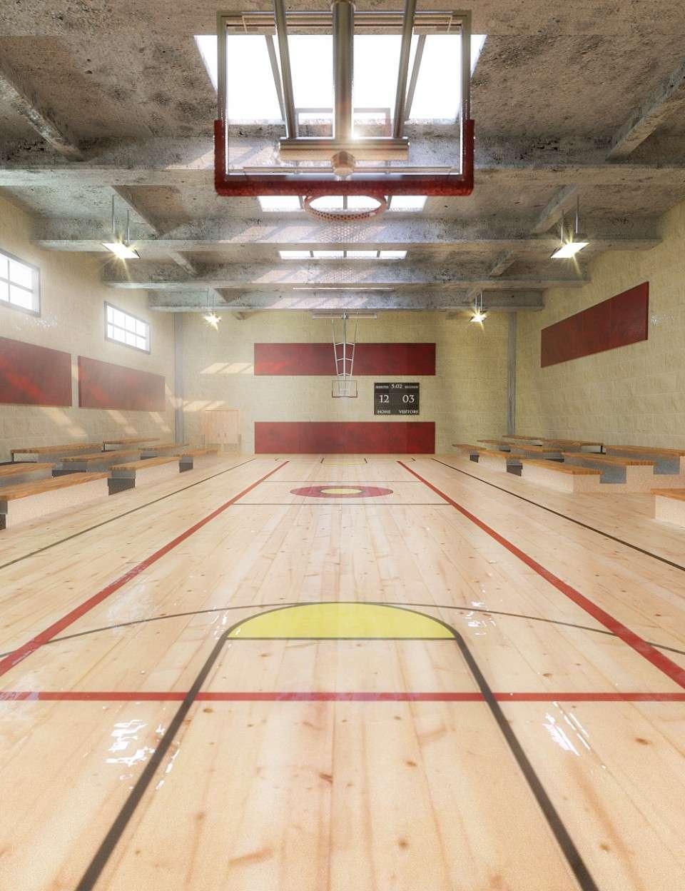 Gymnasium + Iray update