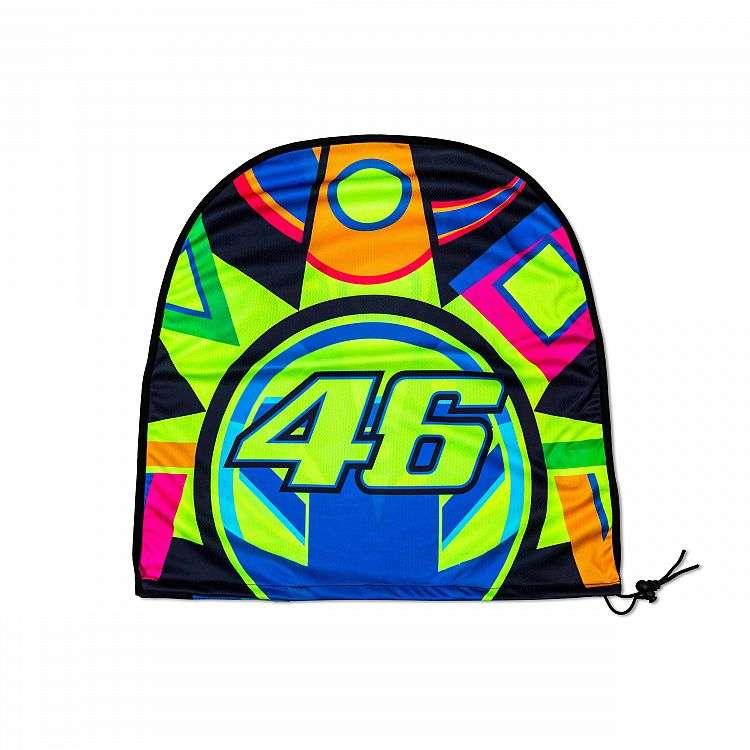 b33bda328df VR46 Valentino Rossi MotoGP Classic Sun   Moon Motorcycle Helmet Bag ...
