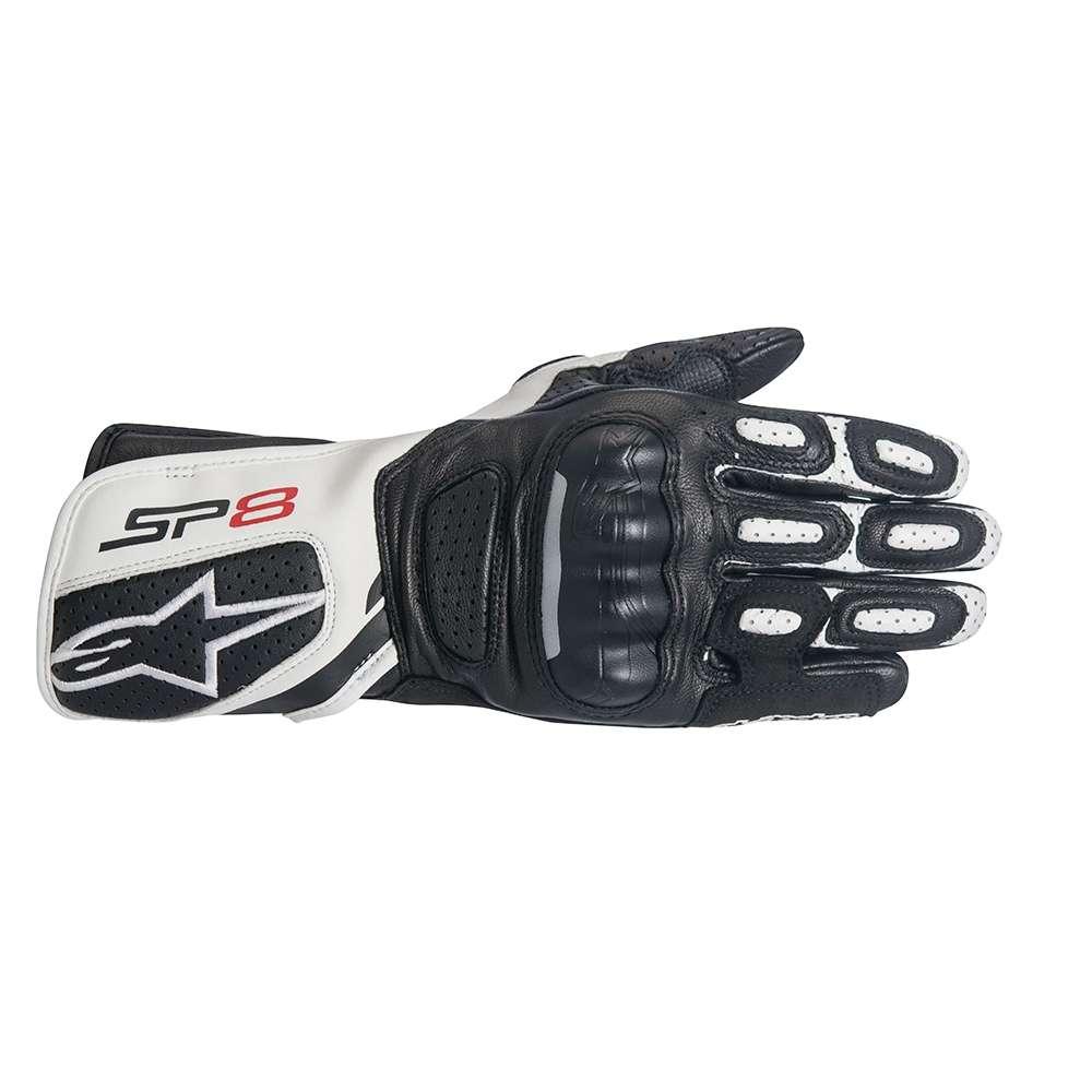 Alpinestars GPX V2 Mens Leather Gloves Black//White//Red